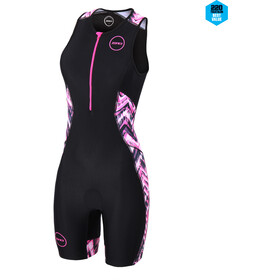 Zone3 Activate Plus Trisuit Dames, electric vibe/black/pink